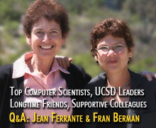 Profile: Q&A with Jean Ferrante and Fran Berman